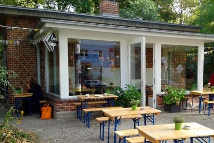 Cafe von außen