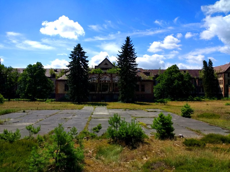 Ruine eines alten Sanatoriums